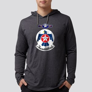 USAF Thunderbirds Value Mens Hooded Shirt