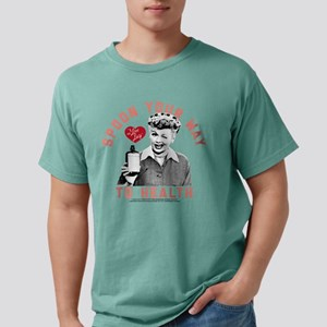 I Love Lucy Spoon Your W Mens Comfort Colors Shirt