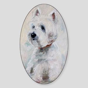 Watch Dog Sticker (Oval)