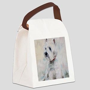 Watch Dog Canvas Lunch Bag