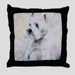 Watch Dog Throw Pillow