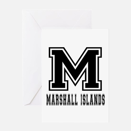 Marshall Islands Designs Greeting Card