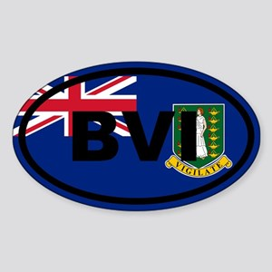 British Virgin Islands Sticker