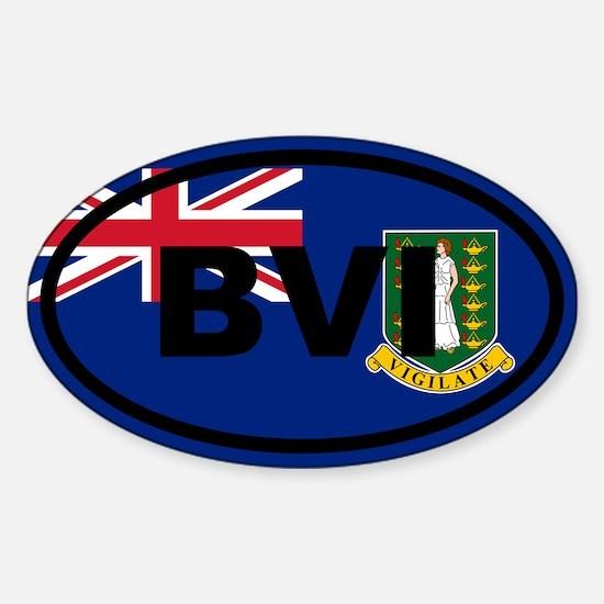 British Virgin Islands Decal