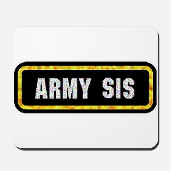 Army Sis Mousepad