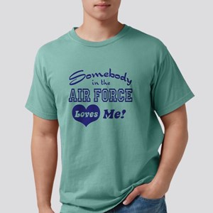 somebodyairforce8 Mens Comfort Colors Shirt