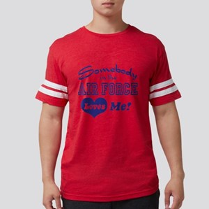 somebodyairforce8 Mens Football Shirt
