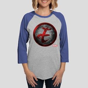 Elektra Icon Womens Baseball Tee