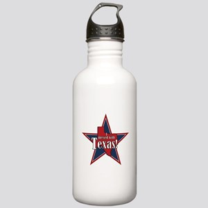 I Messed With Texas Stainless Water Bottle 1.0L