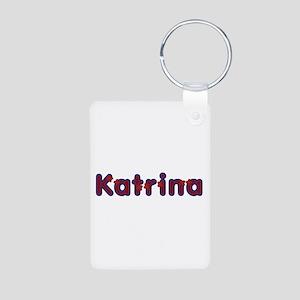 Katrina Red Caps Aluminum Keychain