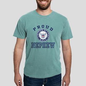 Proud US Navy Nephew Mens Comfort Colors Shirt