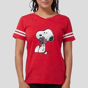 Snoopy - Flowers Womens Football Shirt