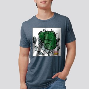 Hulk Fist Light Mens Tri-blend T-Shirt