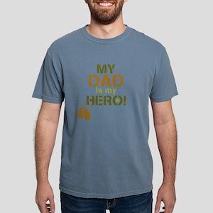 Dog Tag Hero Dad Mens Comfort Colors Shirt