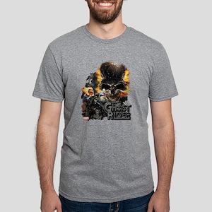 Ghost Rider Skull Mens Tri-blend T-Shirt