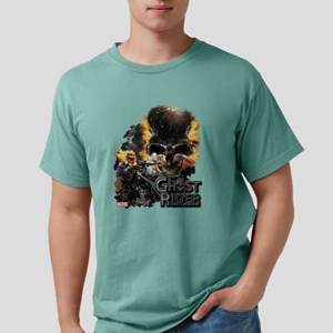 Ghost Rider Skull Mens Comfort Colors Shirt