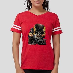 Ghost Rider Skull Womens Football Shirt