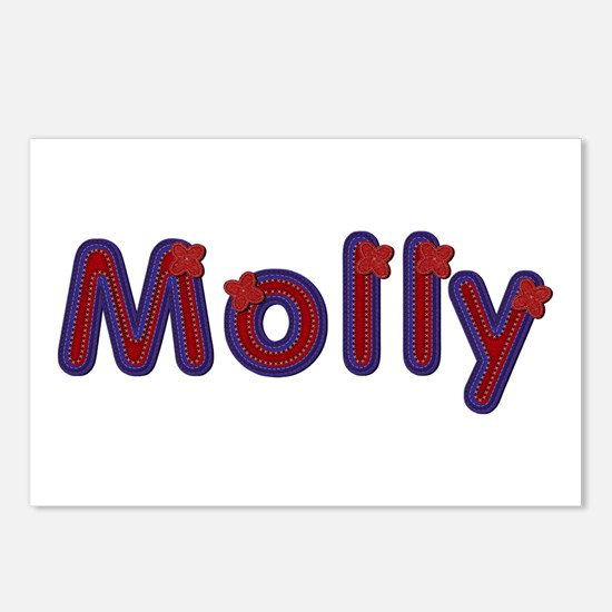 Molly Red Caps Postcards 8 Pack