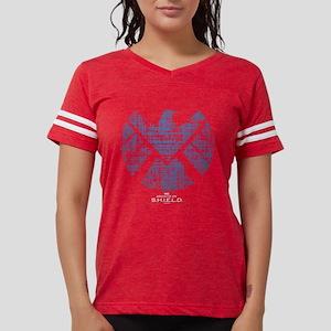 SHIELD Logo Alien Writing Da Womens Football Shirt