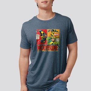 Wolverine Comic Mens Tri-blend T-Shirt