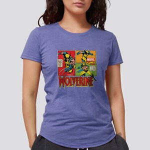 Wolverine Comic Womens Tri-blend T-Shirt
