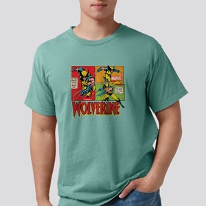 Wolverine Comic Mens Comfort Colors Shirt