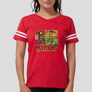 Wolverine Comic Womens Football Shirt
