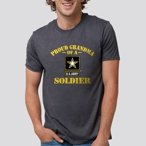 proudarmygrandma33b Mens Tri-blend T-Shirt