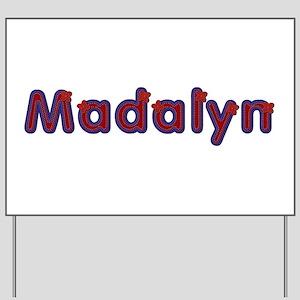 Madalyn Red Caps Yard Sign