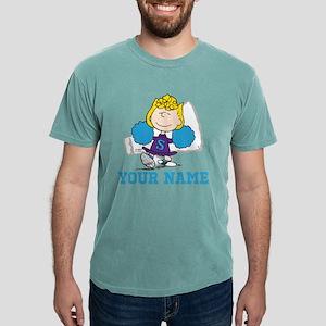 Snoopy Sally Cheer Perso Mens Comfort Colors Shirt