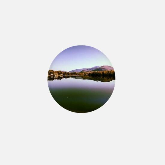 Mirror Lake Mini Button