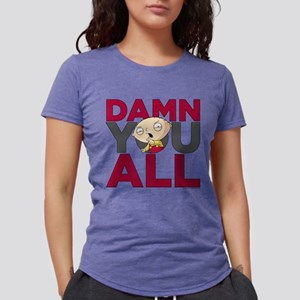 Family Guy Damn You All L Womens Tri-blend T-Shirt