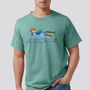 MLP Rainbow Dash 10 Seco Mens Comfort Colors Shirt