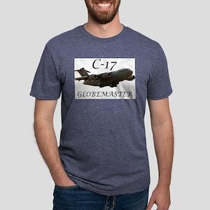 c17 clear Mens Tri-blend T-Shirt