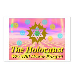 The Holocaust We Will Never F Postcards (Package o