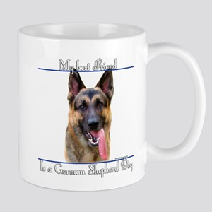 GSD Best Friend2 Mug