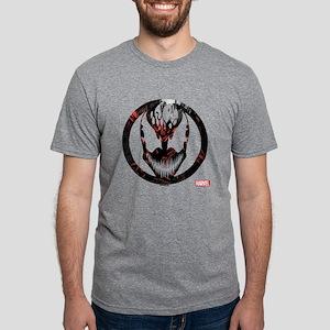Carnage Badge Mens Tri-blend T-Shirt