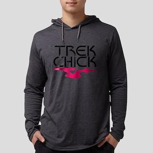 trek_chick_light Mens Hooded Shirt