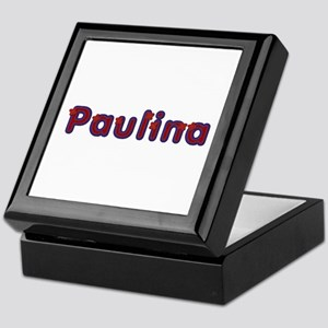 Paulina Red Caps Keepsake Box