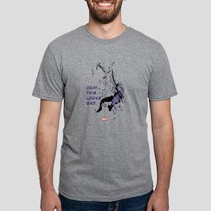 Hawkeye Looks Bad Light Mens Tri-blend T-Shirt