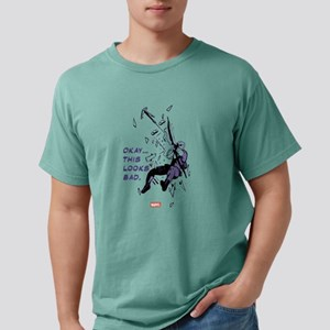 Hawkeye Looks Bad Light Mens Comfort Colors Shirt