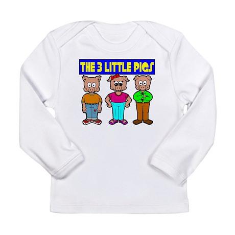 3 Little Pigs Long Sleeve T-Shirt