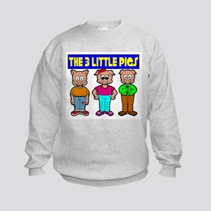 3 Little Pigs Sweatshirt