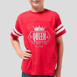 Bones Queen of the Lab Dark Youth Football Shirt