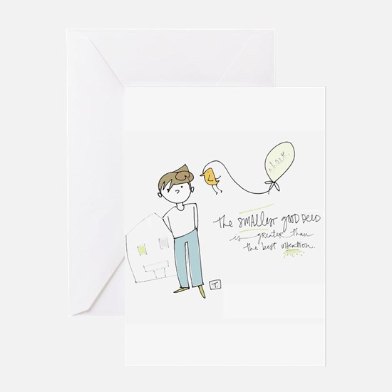 Doesnt Take Much Greeting Card