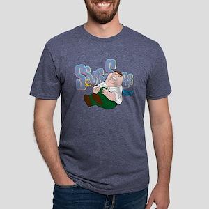 Peter Sssss Dark Mens Tri-blend T-Shirt
