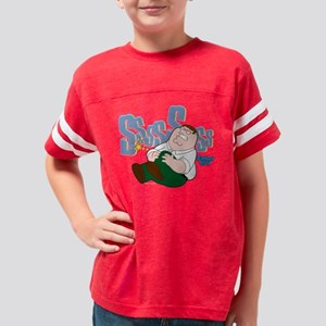 Peter Sssss Dark Youth Football Shirt