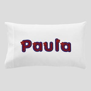Paula Red Caps Pillow Case