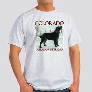 Colorado Labrador Ash Grey T-Shirt