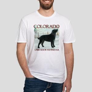 Colorado Labrador Fitted T-Shirt
